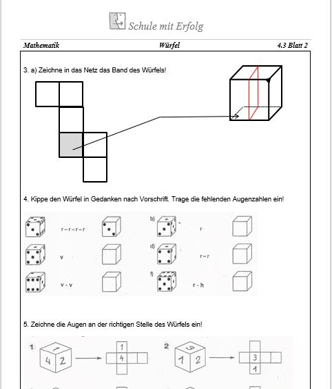 3 Grundschule Mathe 4 Probe