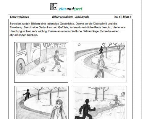 5 Realschule Deutsch Bildergeschichte
